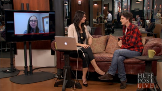I was able to interview Tig Notaro on Huffington Post Live.