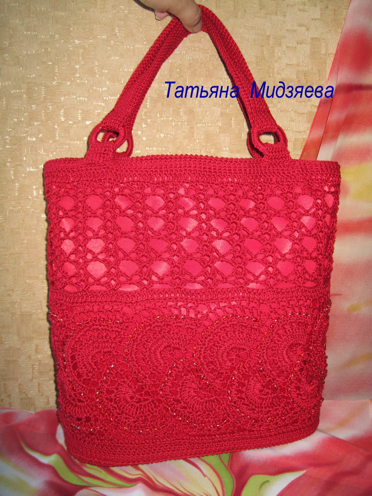 Вязание на заказ сумок