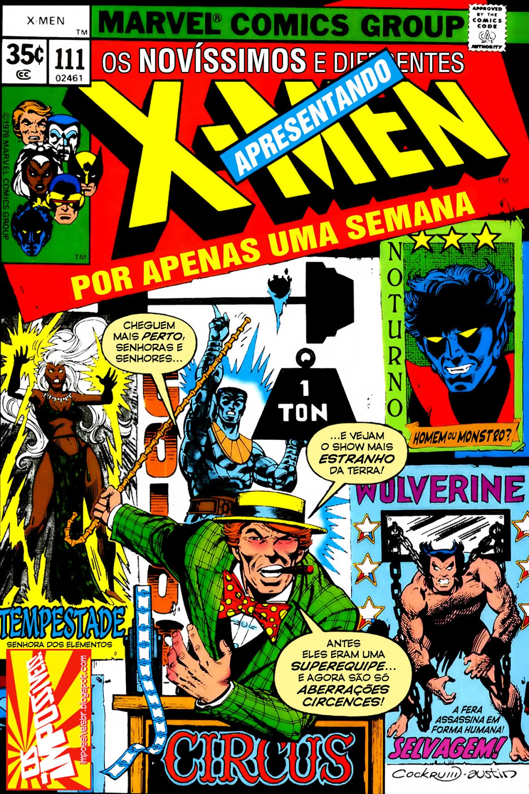 http://www.mediafire.com/download/24d3ko9d511ea6u/Os.Fabulosos.X-Men.(X-Men.V1).111.HQBR.28OUT13.Os.Impossiveis.cbr