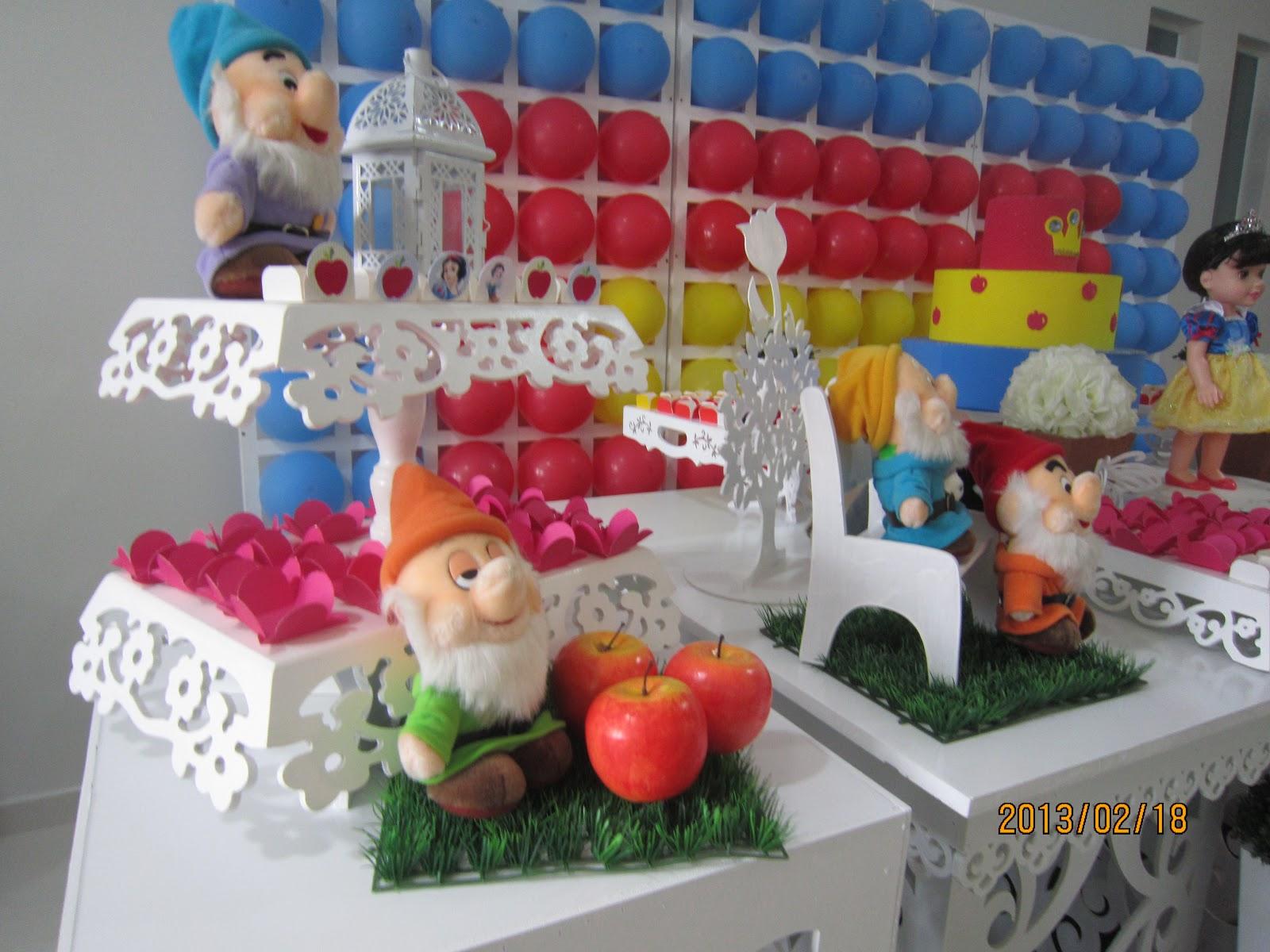 decoracao branca de neve festa infantil : decoracao branca de neve festa infantil:decoração festa infantil – Claudia Hayasida – Londrina – PR