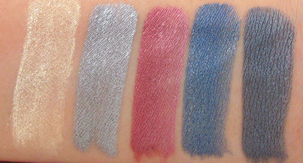 Makeup Factory - Eye Shadow Jewels Shimmering treasures swatches