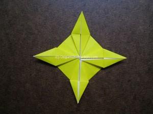 Origami Instruction Diamond Star