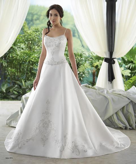 Vestidos de novia para mujeres sin cintura