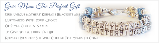 Give Mom the Perfect Gift -A Custom Mothers Bracelet by Crystal Allure Jewelry Creations