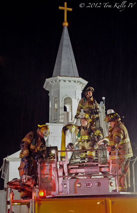My Blog Verwandt Mit Lightning: Recent Works: Church Struck By Lightning In