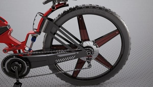 Dise os salvajes de bicicletas todo terreno para la for Disenos para bicicletas
