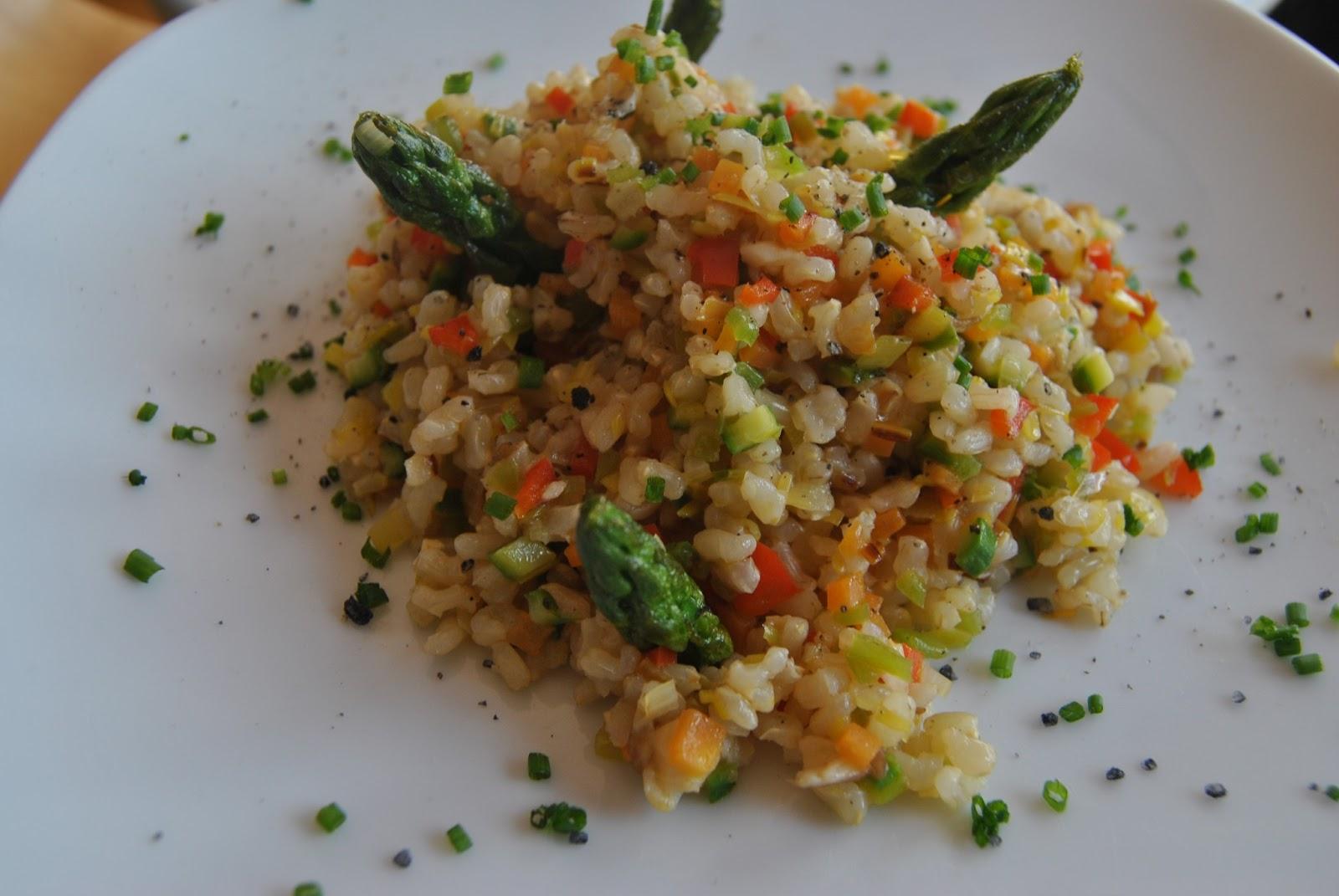 Chapucillas en la cocina salteado de arroz integral con - Salteado de arroz ...