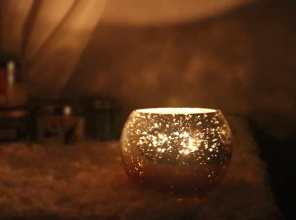 diy ambient shadow light candle holder gift