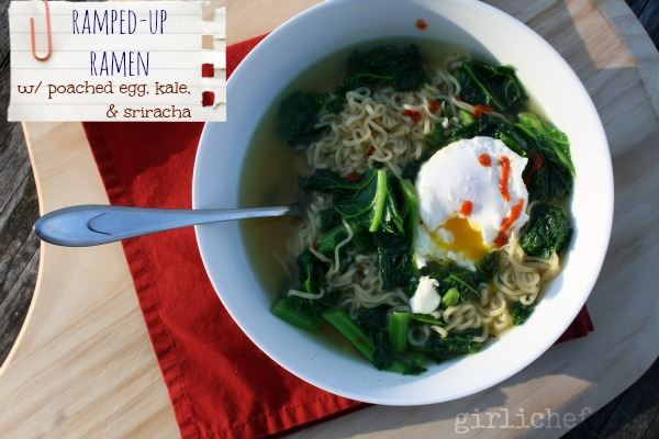 girlichef: Ramping-Up Instant Ramen {#SundaySupper Budget Meals}