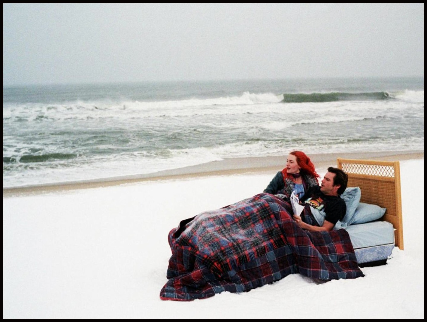 eternal sunshine of the spotless mind mise en scene This month we look at eternal sunshine of the spotless mind (2004), written by charlie kaufman and directed by michel gondry (spoiler alert: this clip contains the last scene) the film is about.
