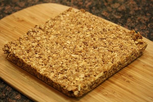 granola-on-cutting-board