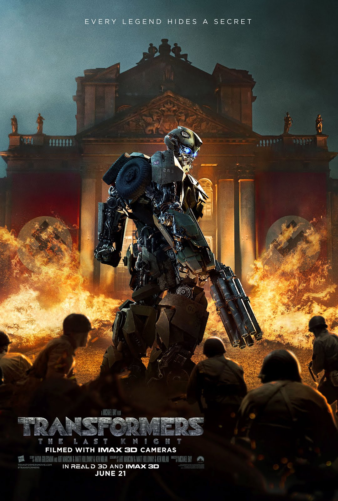 Transformers The Last Knight 2017 Hindi Dual Audio 500MB BluRay 480p ESubs
