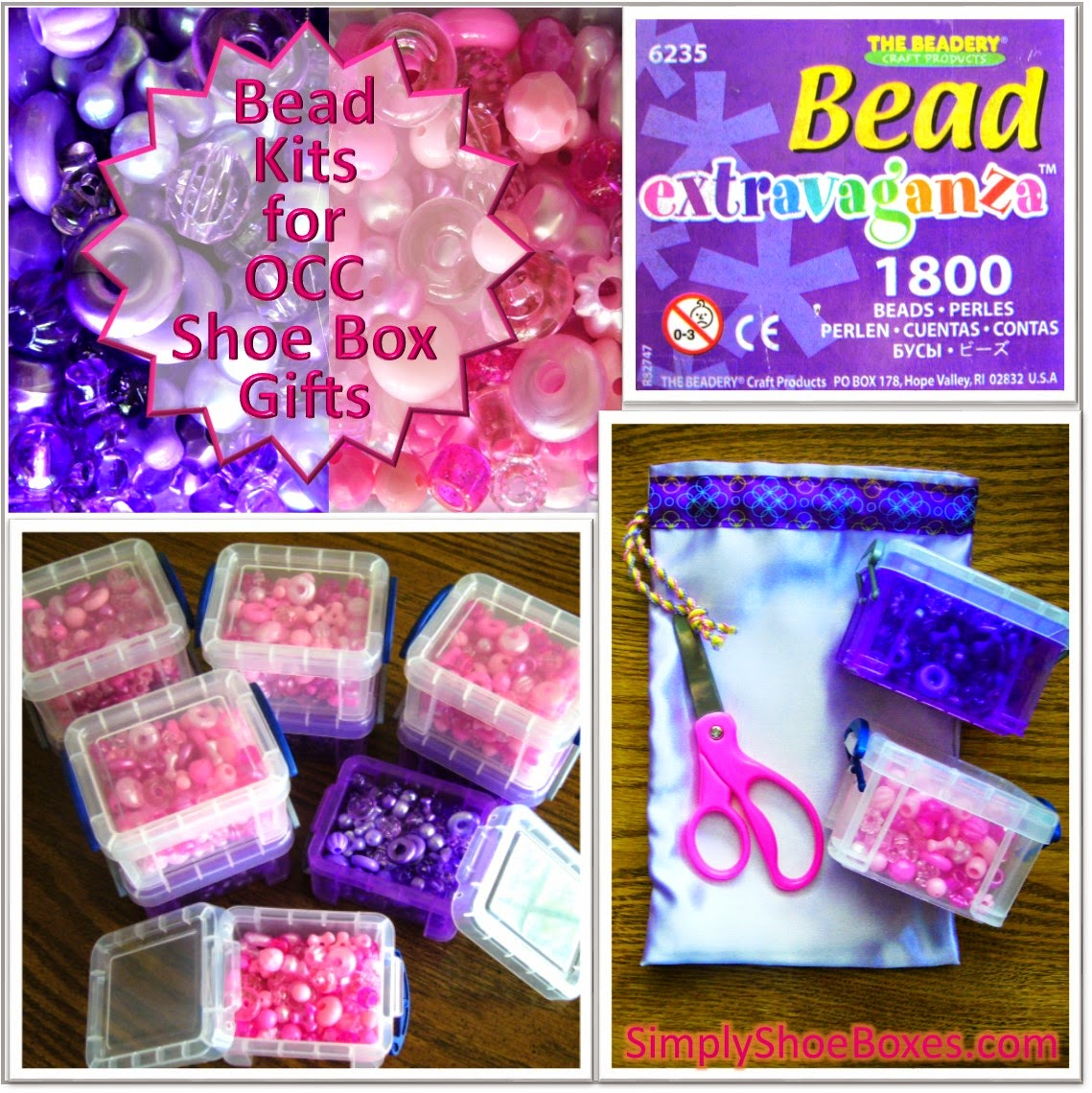 Bead Kits for Operation Christmas Child