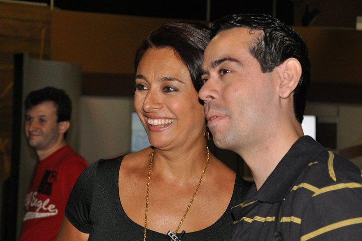 """Bastidores TV Gazeta no """"Mulheres."""" com Katia Fonseca."""