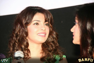 Barfi! Trailer Launch Images Featuring Hot Priyanka Chopra, Ileana D'Cruz