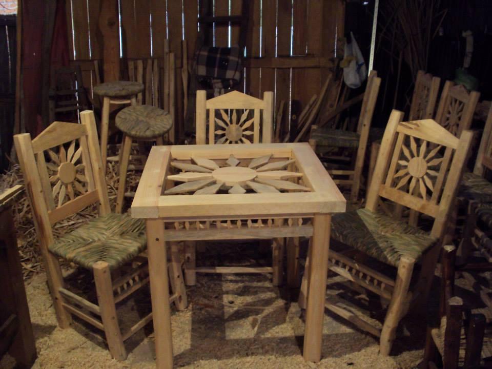 Muebles rusticos y artesanales bautistas for Muebles rusticos de madera