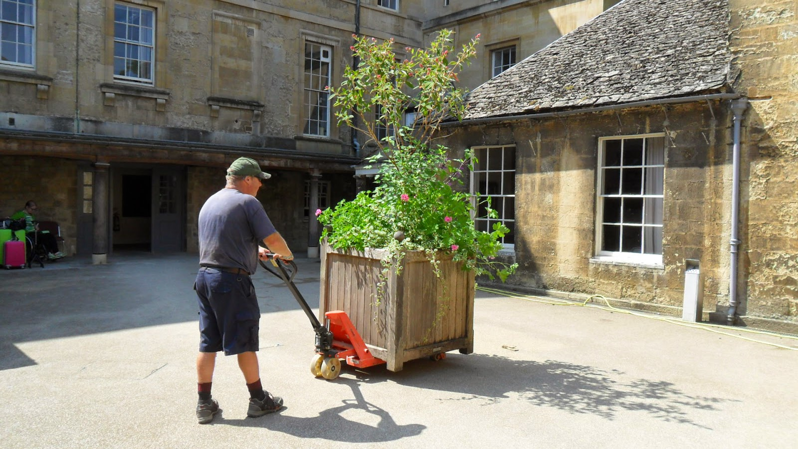 Worcester College Gardeners Colour Returns To The Provost