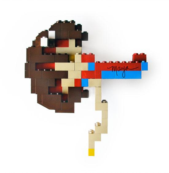 LA CIENCIA DE LA VIDA: Órganos de LEGO