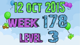 Angry Birds Friends Tournament level 3 Week 178