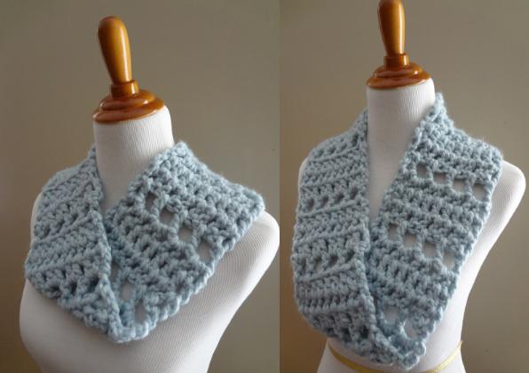 Fiber Flux Free Crochet Patternoudy Sky Mobius Cowl