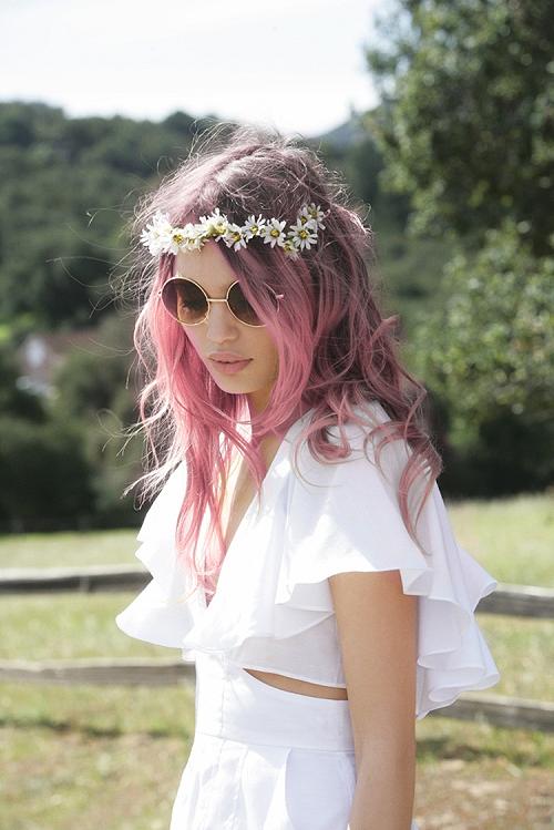 pelo+rosa+peinados 2015
