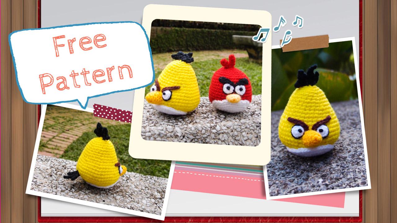 Angry Birds Patrones Crochet Gratis Amigurumi