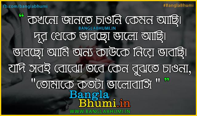 Bengali Very Sad Love Shayari - Bangla Very Sad Love Story Photo