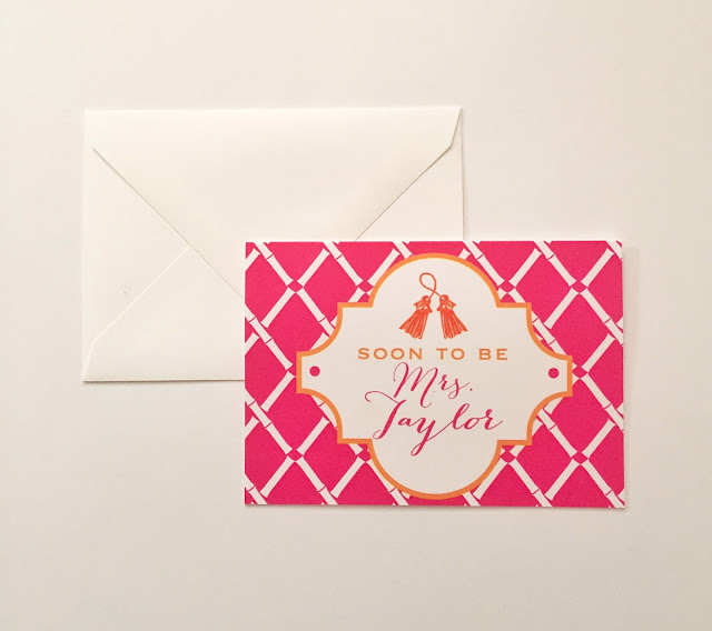 Preppy Tassel Stationery