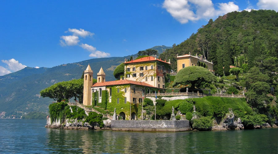 Italienische Kultur Lago Di Como Fotos Comer See