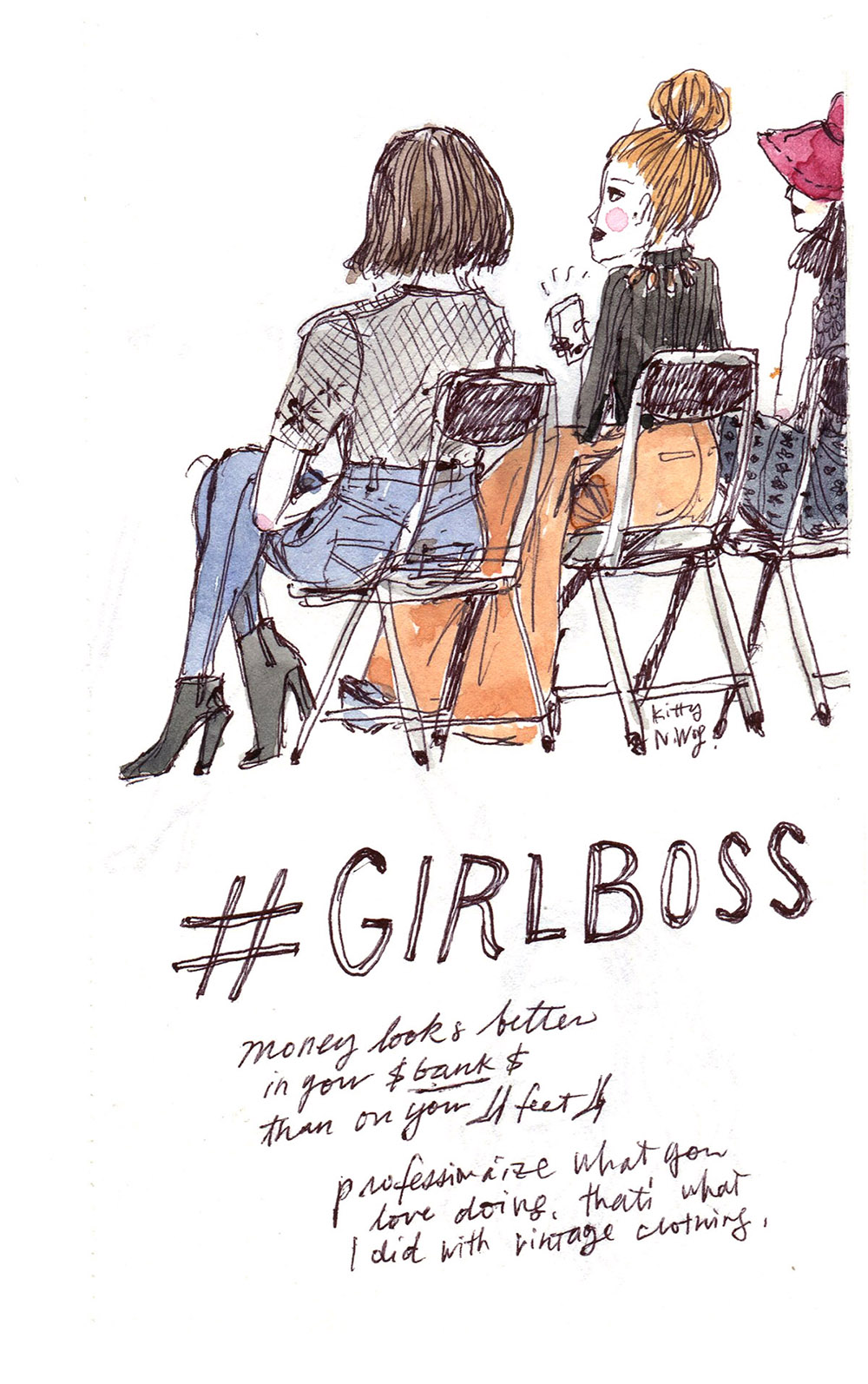 #Girlboss NYC Live Sketch