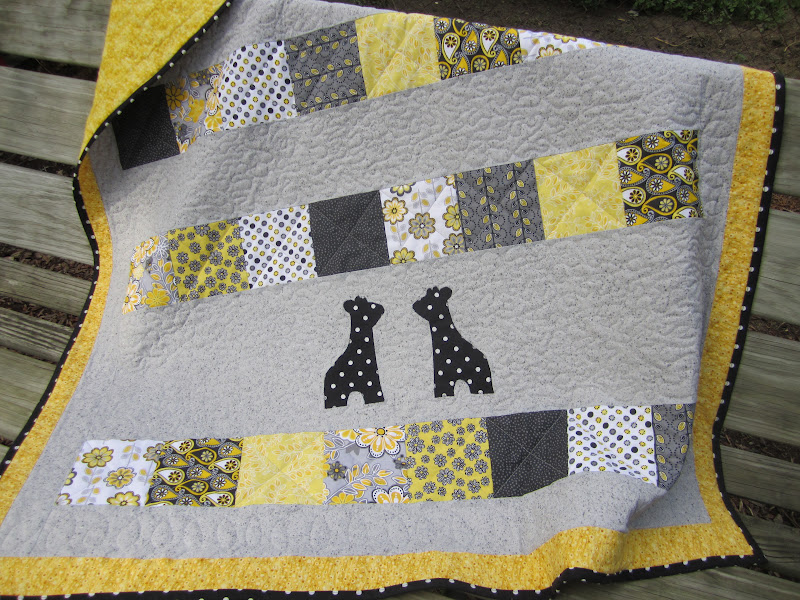 MB in MI: Baby quilts and Birthdays..... : yellow and gray baby quilt - Adamdwight.com