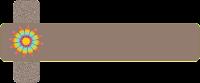 Faixa marrom para blog - Criação Blog PNG-Free