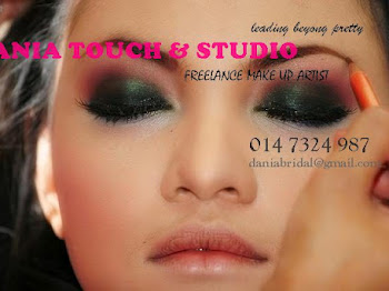 MAKE UP RATES BY DANIA TOUCH