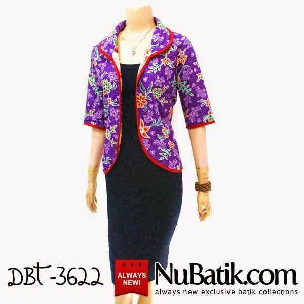 Blouse Blazer Batik Solo Online Shopping Baju Batik Wanita