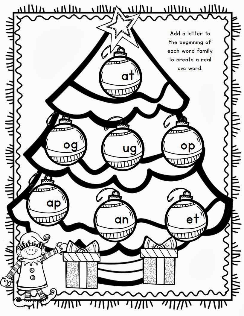 holiday math coloring pages - photo#14