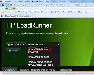 Loadrunner software download