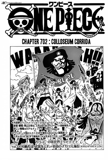 "Download Komik One Piece Chapter 702 ""Colloseum Corrida"" Bahasa Indonesia"