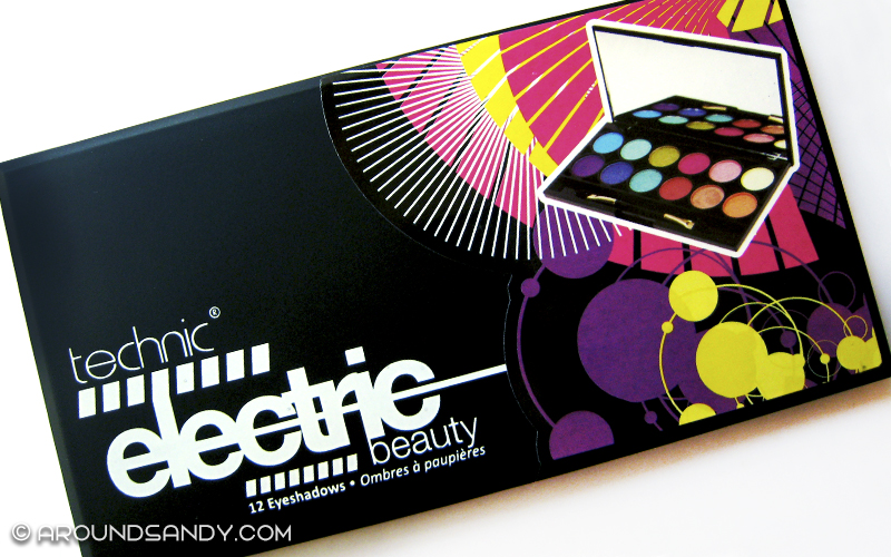 Technic electric eyes palette paleta sombras