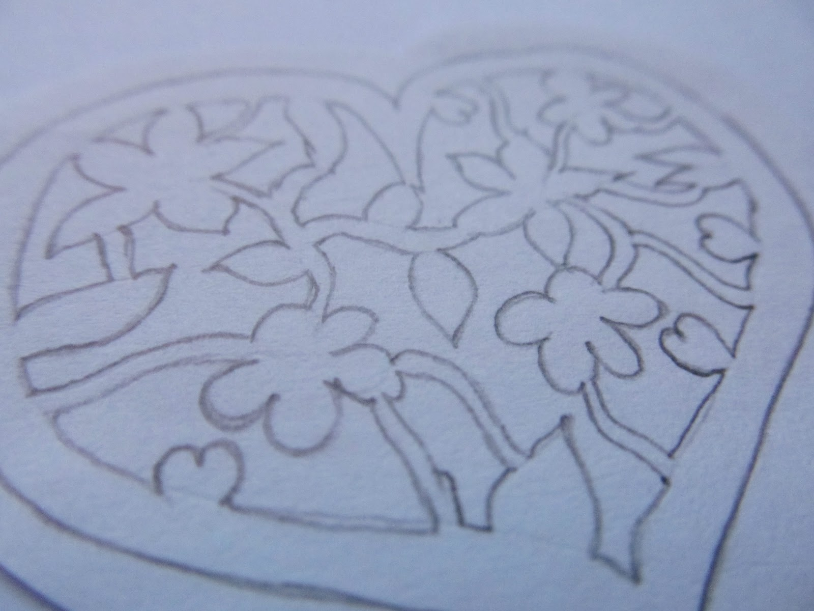Windy island handmade paper cut for Easy paper cutting flowers