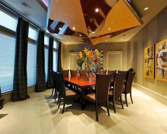 desain ruang makan elegan