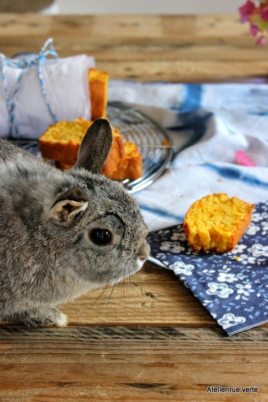 Cake aux carottes / Photos Atelier rue verte /