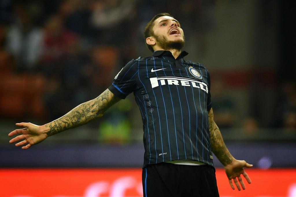 Foto Icardi (Inter) | Cesena Inter e Napoli Verona in Diretta TV Oggi: info streaming calcio Serie A.