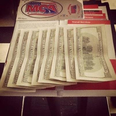 Extra income for life for Mca motor club of america money