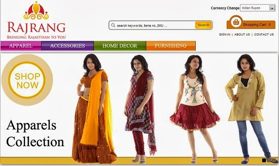One Stop Destination for Ethnic Wear, Home Decor & Accessories- Rajrang.com, affordable home decor, Rajrang.com, accessories, ethnic wear, home furnishings