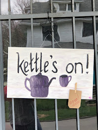 Stop in for a tea to go....