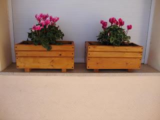 Jardineras economicas - Jardineras rusticas exteriores ...