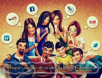 Ganhe dinheiro divulgando notícias via redes sociais e sites na Internet.