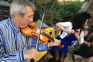 Taking in the Irish trad that's in abundance this season