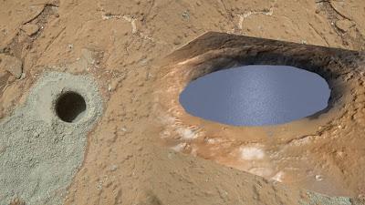 Novo estudo sugere que Marte pode abrigar lagos de água em sua superfície