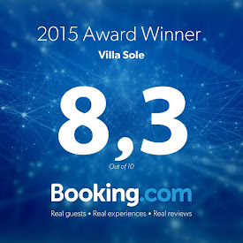 """VILLA SOLE"" PREMIATA DA BOOKING.COM!"